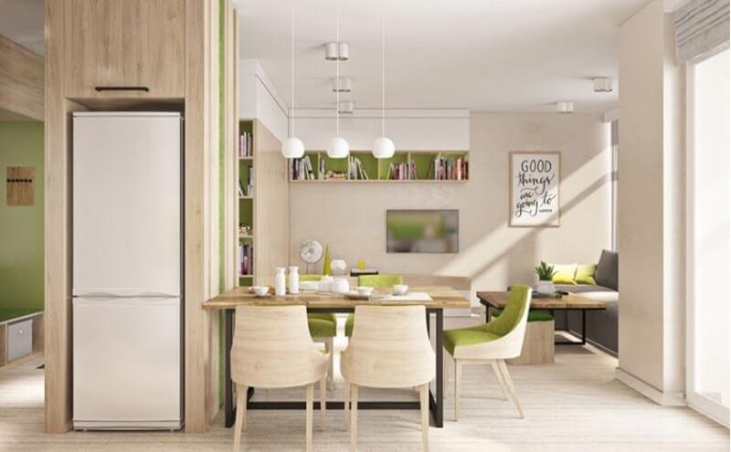 Chủ nhân căn nhà cần xác định rõ màu sắc chủ đạo của toàn bộ không gian thì mới dễ dàng trong việc thiết kế.