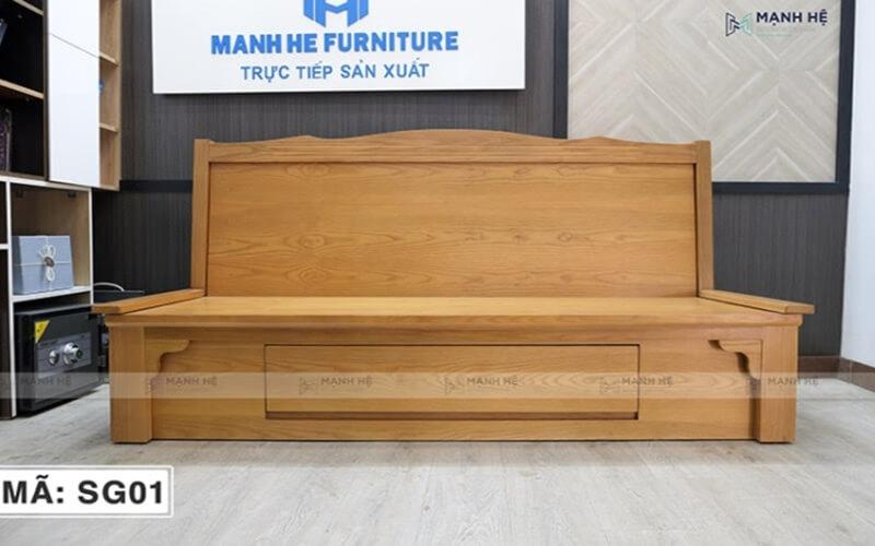 Mạnh Hệ chuyên cung cấp những bộ sofa giường gỗ đa năng với những thiết kế đơn giản, hiện đại cùng màu sắc sang trọng.